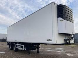 refrigerated semi trailer DRACO Chereau City 10m60 Stuuras-Lift-Carrier Maxima 1000 2004