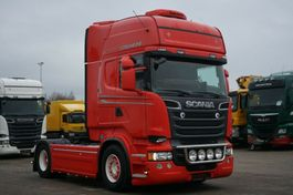 cab over engine Scania R560 E5 Topline Retarder 2Tanks 1200L Standklima 2013