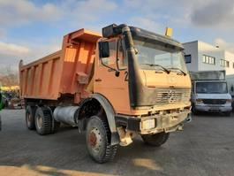 tipper truck > 7.5 t Mercedes-Benz 2628 AK/6x6/Meiller-Kipper/V8/13to Achsen 1987