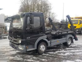 swap body truck Mercedes-Benz Atego 818 BlueTec5 Absetzkipper 2013