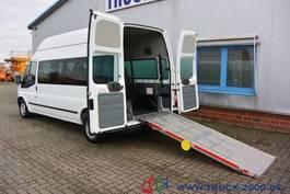 taxi bus Ford Transit 125T300 8 Sitze Rollstuhrampe Scheckheft 2015