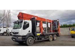 crane truck Renault Kerax 410 jonsered 3710 2008