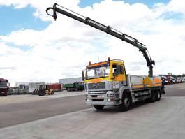 platform truck MAN TGA 26.413 Hiab 166ES-4 HPRO+remote 2003