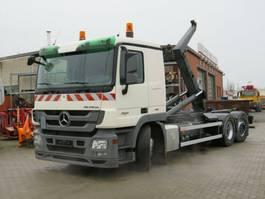container truck Mercedes-Benz Actros 2541 L6x2 Abrollkipper MeillerLenk/Lift 2009