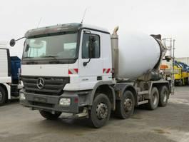 concrete mixer truck Mercedes-Benz Actros 3236 B 8x4 Betonmischer Deutsch, Stetter 2007