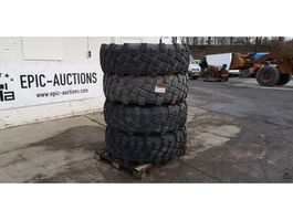 Wheels- with tire set truck part Michelin 405/95 R22