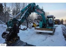 crawler excavator Kobelco SK140 SRLC-5 w / rotor tilt & 3 buckets WATCH VIDE 2017