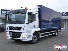 closed box truck MAN TGM 18.290 4x2 Gesloten bak met klep Euro 6 2016