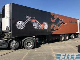 refrigerated semi trailer Krone SD 3 ass koeler, stuuras, liftas, klep 2011