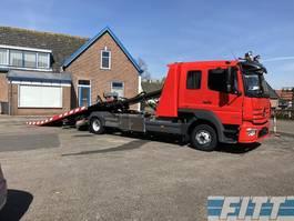 car transporter truck Mercedes-Benz Atego 1224 Euro6 afsleepauto 2016