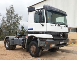cab over engine Mercedes-Benz ACTROS 2040AS 4X4 MANUAL 1998