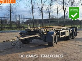 container chassis trailer GS Meppel AIC-2700 N 3 axles Liftachse 2005