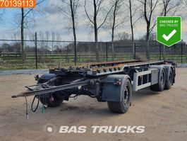 container chassis trailer Burg BPA 09-18 ACXXX-00 3 axles Liftachse 2004