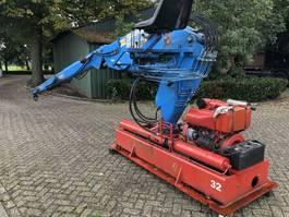 loader crane Kennis Kraan type 20,000 1987