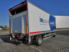 closed box trailer Pacton 2 As Vrachtwagen Aanhangwagen Gesloten, WS-59-ZD 1997