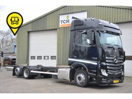 chassis cab truck Mercedes-Benz Actros 2545 6X2 CHASSIS .VOL-LUCHT 2012