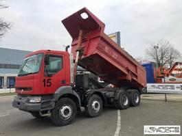 tipper truck > 7.5 t Renault Kerax 400 Full steel - Manual - Mech pump - 340 / 385 / 400 1999