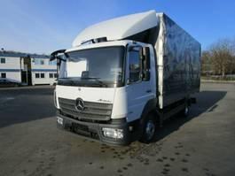drop side truck Mercedes-Benz ATEGO IV 816 Pritsche/Pl. 5,20 m*Klima*NL 2,8 T 2016