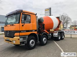 concrete mixer truck Mercedes-Benz Actros 3240 Full steel - Manual - Airco - 9M3 1998