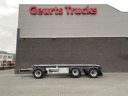 container chassis trailer GS Meppel AC-3000 3 ASSIGE CONTAINER AANHANGER 2018