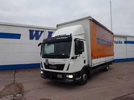 sliding curtain truck MAN TGL 12-250 BL - 4X2 - EURO 6 2015