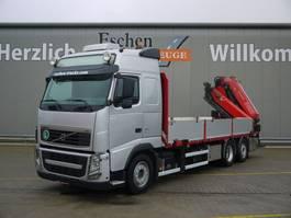 drop side truck Volvo FH 460, 6x2, Fassi F 415 Kran, Luft, EEV, Funk, Standklima, 2012