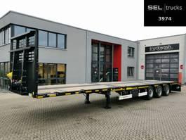 flatbed semi trailer Kässbohrer LB3E / Plattformverlängerung (m): 6,9 /MEGA /NEW
