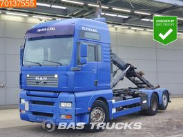 container truck MAN TGA 26.510 6X2 Manual Intarder Liftachse Euro 3 2002
