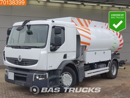 tank truck Renault Premium 310 4X2 Fuel 13.390 Liters 4 compartments DXi ADR Euro 5 Pumpe 2010