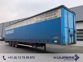 sliding curtain semi trailer Van Hool 3x BPW / APK 04-2021 / Mega / Curtainside 2002