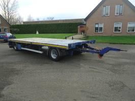 turntable full trailer GS AV-2000L GS  2 As Open aanhanger Zware UNP kantbalken Hard houtenvloer 2008