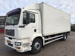 closed box truck MAN TGM 18.240 EURO 4 2007