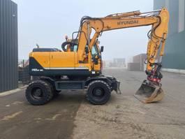 wheeled excavator Hyundai Robex 140 W-9 2015
