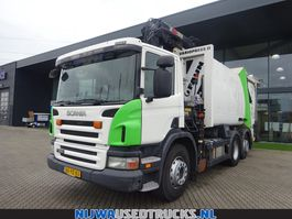 garbage truck Scania P280 Garbage truck + Export only 2010