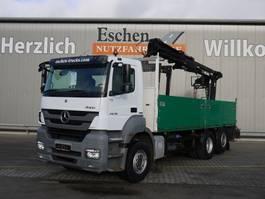 drop side truck Mercedes-Benz Axor 2536L, 6x2, Atlas 165.2 2011