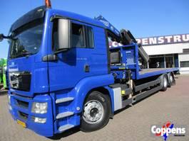 crane truck MAN TGS 26.360 Open laadbak met kraan Euro 5 2011
