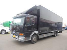 closed box truck Mercedes-Benz Atego 815 2004
