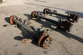 axle equipment part SAF EIXOS SAF 1900