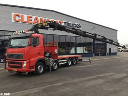 platform truck Volvo FH 420 Palfinger 60 ton/meter laadkraan 2010