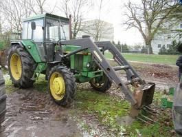 farm tractor John Deere 3130 LS mit Frontlader Stoll 1977