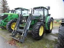 farm tractor John Deere 6630 mit Frontlader 2009