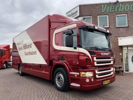 closed box truck Scania P230 BAKWAGEN MET LAADKLEP SHOWROOM CONDITIE 189.000KM ORIGINEEL!!!!!!!!! 2008