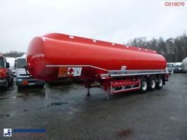 tank semi trailer semi trailer Cobo Fuel tank alu 40.5 m3 / 7 comp + ADR 2013