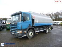 tank truck Scania P94-300 6X2 fuel tank 16.7 m3 / 4 comp 2004