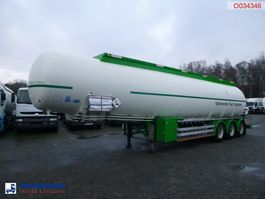 tank semi trailer semi trailer Feldbinder Fuel tank alu 44.3 m3 / 6 comp 2007