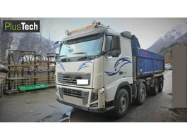 tipper truck > 7.5 t Volvo FH16 550 2012