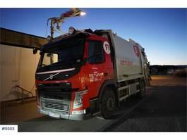 garbage truck Volvo FM 370 4x2 1-chamber compactor truck (euro 6) 2014