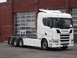 chassis cab truck Scania R650 8x4*4 - 8.3 M chassis - Full air - Retarder - Leather - Navi - PTO 2018