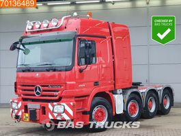 cab over engine Mercedes-Benz Actros 4160 S 8X4 500T Manual Push+Pull WSK Hydraulic Euro 3 2007