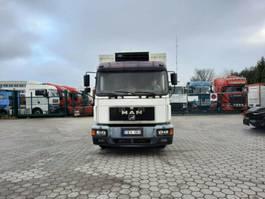 refrigerated truck MAN 18.264 Kühlkoffer 1997